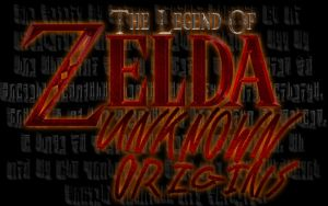 NEW Zelda Unknown Origins Logo by ScootWHOOKOS