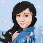Krista Portrait Commission by marrero95ph