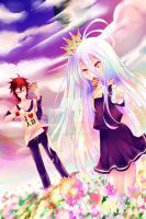 No Game No Life by Rin-Te