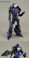 Vehicon Motorcycle Custom Transformers Figure by Jin-Saotome