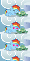The Mare and the Tortoise by Beavernator