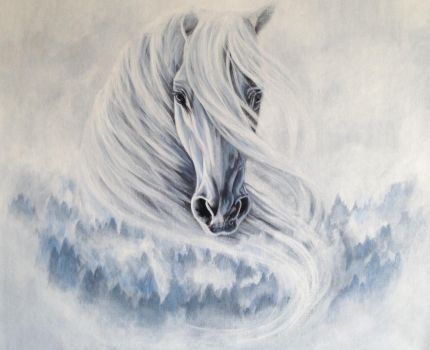Lucid dreams of misty days by ArtbyVictoria