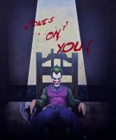The Joker (Jokes on you!) by simonbearedwards