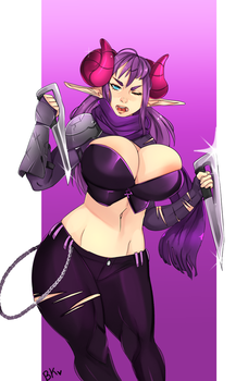 Commission: Assassin by Bokcutter
