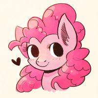 Horse Pink by SteveHoltisCool