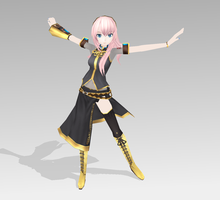 Luka original Project DIVA Ext. by bookazoid