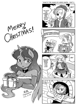 MLP 4Koma 34 Christmas part2 by shepherd0821