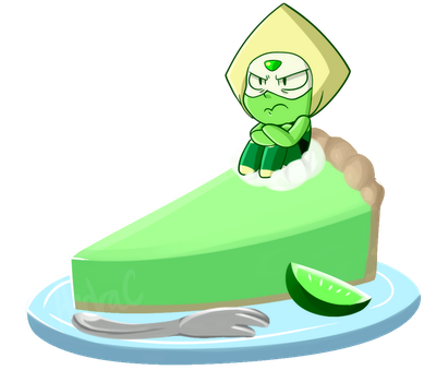 Angry Slice of Pie by itsaaudra