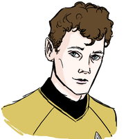 Portrait Time - Chekov by Sweet-Nectarine