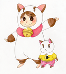 Bee and Puppycat by KearaLemon