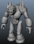Rock Monster Sculpt (Unfinished) (Free Download) by EEEnt-OFFICIAL