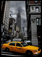 New York Cab by Murphoto