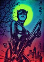 Catwoman by DanielDahl