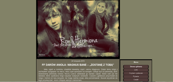 Emma Watson Rupert Grint (Ron and Hermiona) by Dusia89