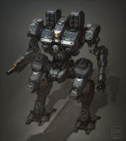 Mech sketch by BrotherOstavia