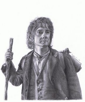The Hobbit, Bilbo Baggins (Martin Freeman) by MarkusBogner