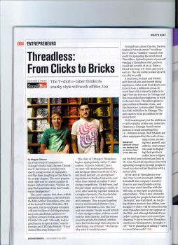 Threadless in BusinessWeek by GreenRabbit5