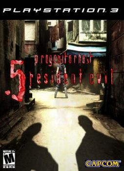 Resident Evil 5 Game Cover by UnDead-REality
