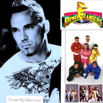 Jason David Frank Collage by amay3190