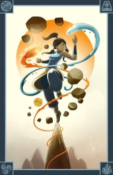 Korra by mikemaihack