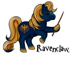 Ravenclaw: My Little Pony v.1 by AltheaHarper