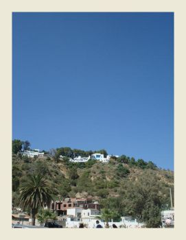 Hill view Sidi Bou Said by koffiekitten