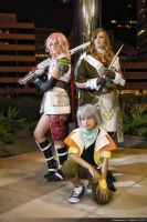 FFXIII Group Shot by AuroraMaryte