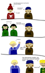 The United States and America - 1 by SuperComicGeek