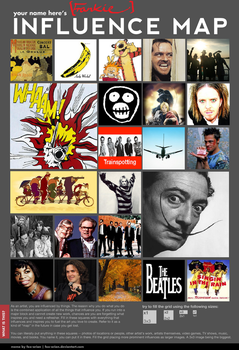 My Influence Map by overteccentricity