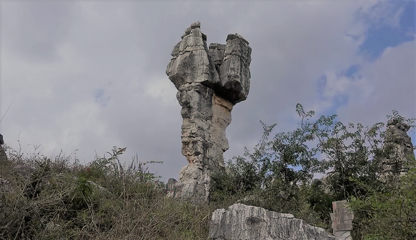 Stone Forest, Kunming, China by boodlemoo
