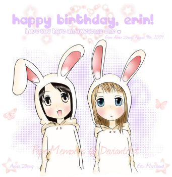 Bunni's Happy Birthday by PaperMemories