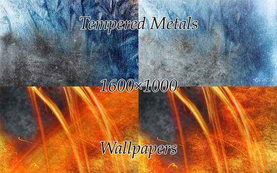 Wallpapers- Tempered Metals by romadragon