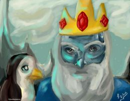 Day 43: Ice King by Figilove