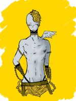 The gold army angel by leophobia