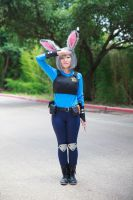 Judy Hopps Reporting for Duty [Zootopia Cosplay] by firecloak