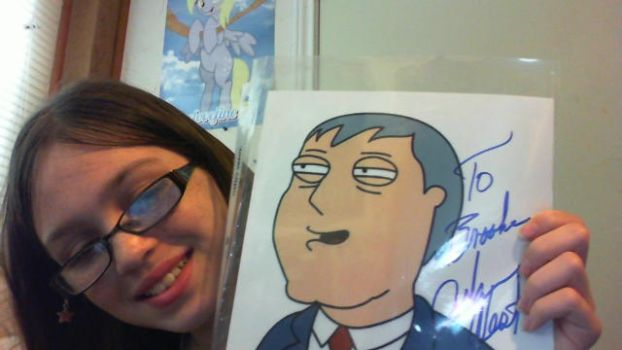 Me and Adam West! by Kittiekatlover3