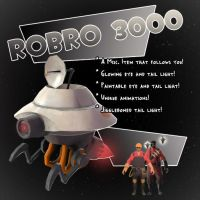 TF2 Contribute - RoBRO 3000 by Ragnarokdragon