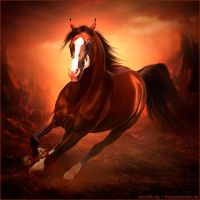 HEE Horse Avatar - Scorpions Spell MH by Art-Equine
