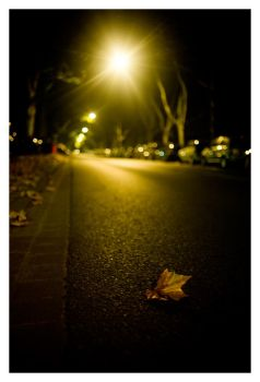 walking home drunk. by fxcreatography