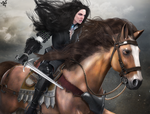 Yennefer of Vengerberg by DemonLeon3D