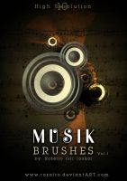 musik brush by Rozairo