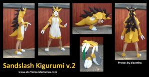 Sandslash kigurumi version 2
