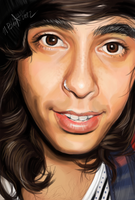 Vic Fuentes by Chicken-Priestess