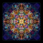 Sense of Delight Mandala by Lilyas
