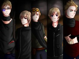 [APH] Nordics- 'Crossfire' by Ms-Filou