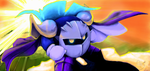 DaMuro Painting Meta Knight by Yavanni