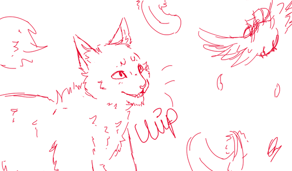 look at the birb wip by BubbletheCat