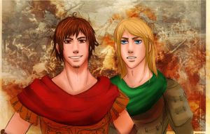 Rome and Germania by EmjayxD