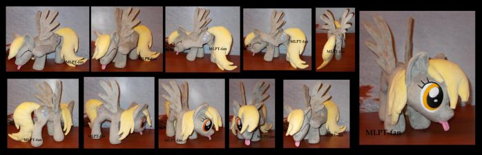 ooak SCRATCHING DERPY HOOVES by calusariAC