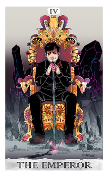 Tarot Arcane Project #1: The Emperor by Kayroos